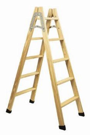 Escalera madera 6 escalones pintor gemar - Escalera de madera pintor ...